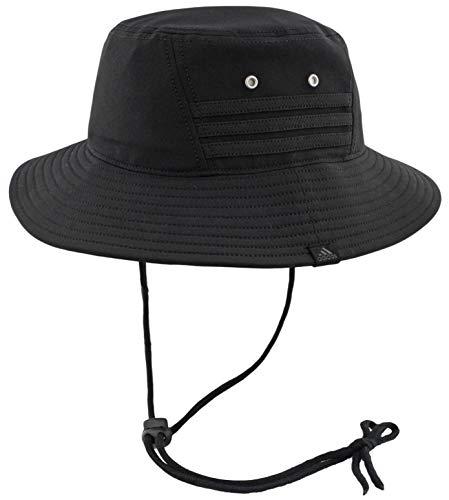 adidas Herren Victory II Bucket Hat, Herren, schwarz/schwarz, Einheitsgröße