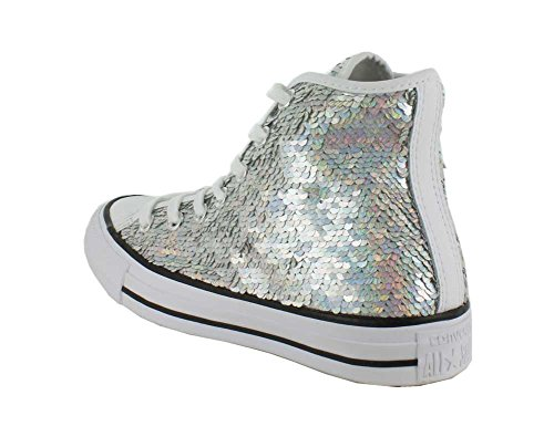 Converse All Star Hi Femme Baskets Mode Metallic metallic