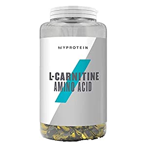 41aH5yQB3aL. SS300  - MY PROTEIN L Carnitine Amino Acid Supplement, Pack of 180 Tablets