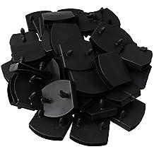 RDEXP - 50 Soportes de plástico para somier de láminas de Madera, ...