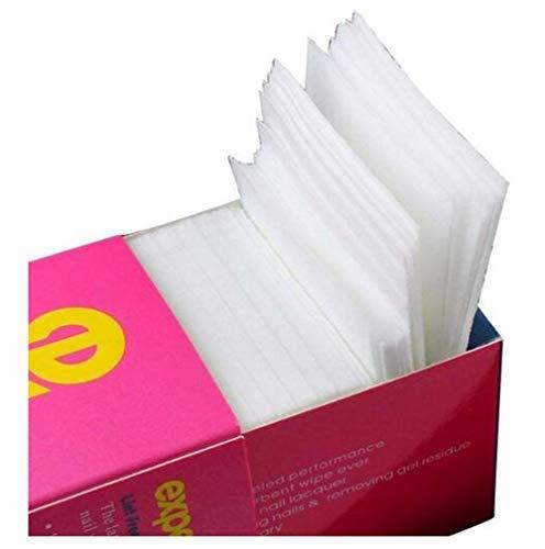 325pcs/caja profesional sin pelusas toallitas uñas Nail Art Gel polish Remover Limpiador de Uñas de almohadilla de algodón
