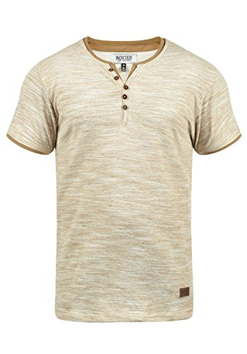 Herren Lackleder T-Shirt Unterhemd Lack-Optik Revers Knöpfe Partykleider