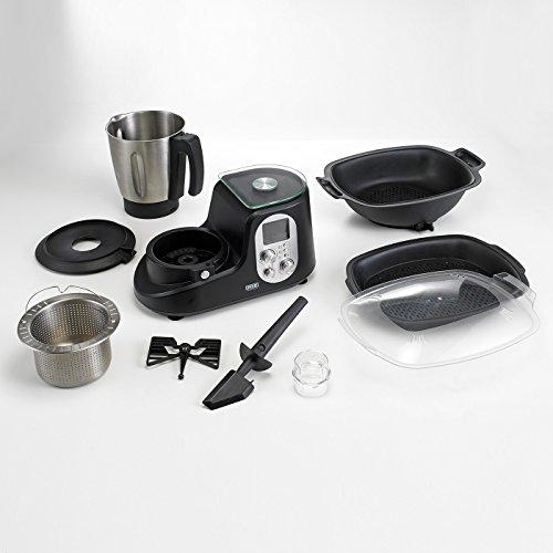 BEEM Thermostar MiXX und Cook, Multifunktionsgerät mit Kochfunktion inklusiv Kochbuch, Edition Eckart Witzigmann, Edelstahl/schwarz - 8