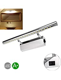 5W 400Mm, Warm White: Greensun 5W 21Leds 400Mm SMD 5050 Led Mirror Front Light Lamp Bathroom Wall Lights With...