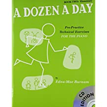 Dozen a Day Book 2 Elementary Book + CD-