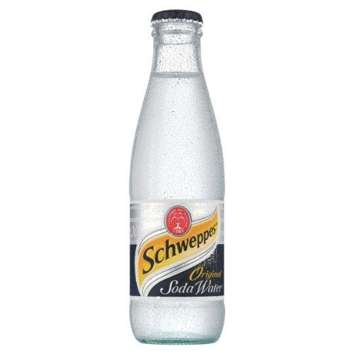 Soda-24 Pack (Schweppes Soda Water 200ml (Packung mit 24 x 200 ml))