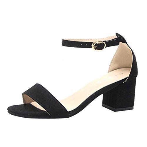 Moda Mid Heel Heels - Damen Sandalen Ronamick Mode Frauen Damen