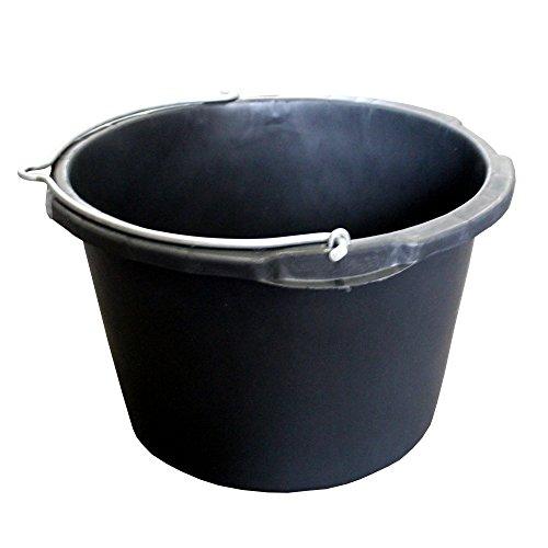 Aufzugskübel 40,0 l, Ø 50,5 cm, Jopa', schwarz, Skalierung