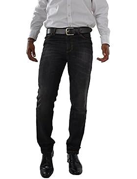 Herren Jeans Hose Straight Leg gerader Schnitt Business Jeanshose Schlicht W30 bis W38