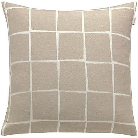 Esprit Home 21574-030-50-50 - Fodera per cuscino, in tessuto, 50 x 50 cm, colore: pietra, modello relax