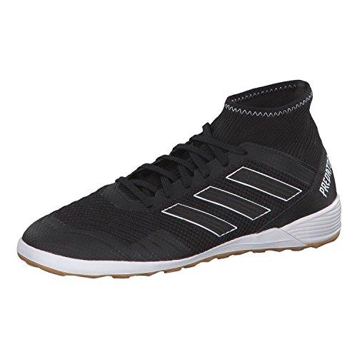 adidas Herren Predator Tango 18.3 in Futsalschuhe, Schwarz (Negbás/Negbás/Ftwbla 000), 42 EU