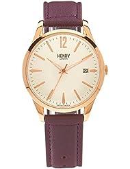 Henry de Londres Unisex Reloj de pulsera Hampstead analógico de cuarzo piel hl39de S de 0082