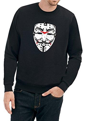 Anonymous Friday Sweater Black Certified Freak-XXL