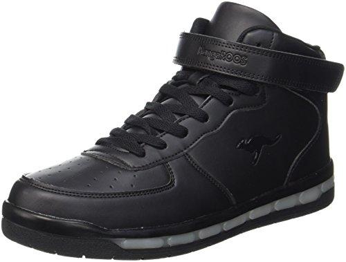 KangaROOS K-Lid, Sneaker Unisex-Adulto Nero (Jet Black)