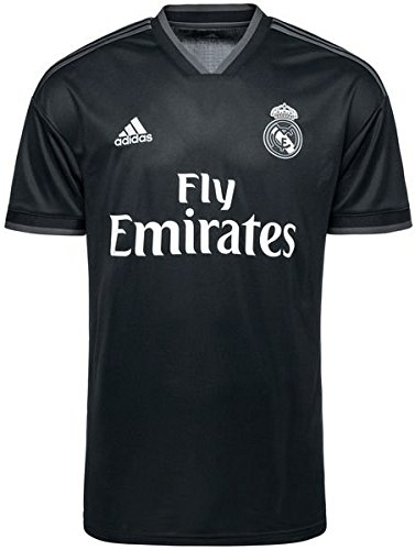 32163d00dd adidas Camiseta Real Madrid Segunda Equipación LFP 2018-2019 Tech onix-Bold  onix-