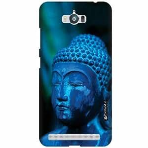 Printland Designer Back Cover for Asus Zenfone Max ZC550KL - Budhha Case Cover