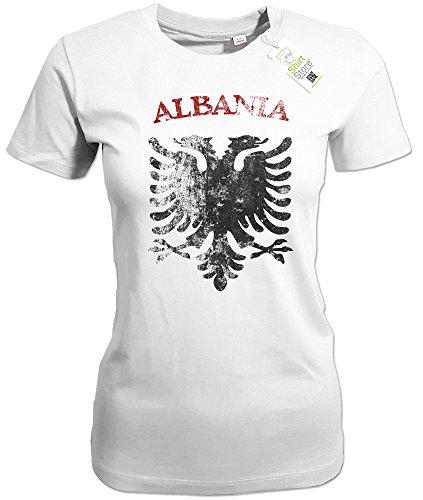 ALBANIA VINTAGE LOOK - ALBANIEN - WOMEN T-SHIRT by Jayess Weiß