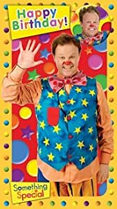 Something Special Mr Tumble Happy Birthday Badge Card