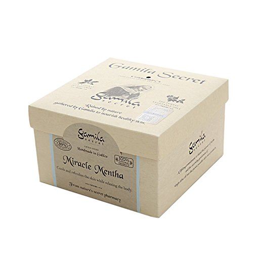 Gamila Secret - Cleansing Bar - Miracle Mentha (For Combination To Oily Skin) 115G - Soins De La Peau