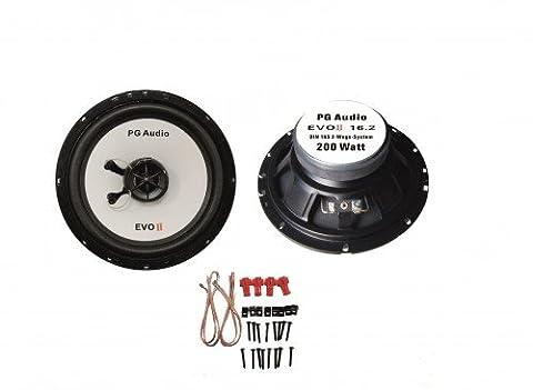VW golf iII, haut-parleurs et audio à l