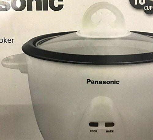 Panasonic SR-10FGS Automatischer Reiskocher 220 V (nicht für USA-europäische Kabel) 5 Tassen weiß