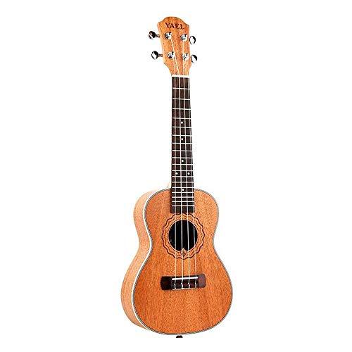 QLJ08 Ukulele da concerto 21 pollici Mini chitarra in corda di nylon Uku Chitarra acustica Ukelele Mogano Regalo in palissandro