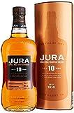 Jura 10 Years Old Single Malt Scotch Whisky mit Geschenkverpackung (1 x 0.7 l)