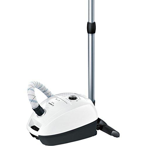 Bosch bgl3a209 aspirapolvere con sacco, 600 w, 3 litri, 79 decibel, bianco/nero