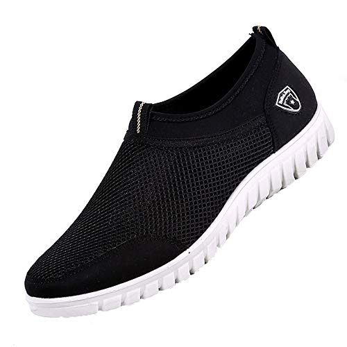 Manadlian Winterschuhe Herren Freizeitschuhe Lässige Schuhe Turnschuhe Mesh Atmungsaktiv Bequeme Schuhe Müßiggänger -