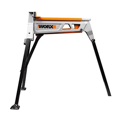 Worx WX060.1 Jawhorse, tragbar aufspannung Werkbank Workstation mit Werkzeugablage - 2