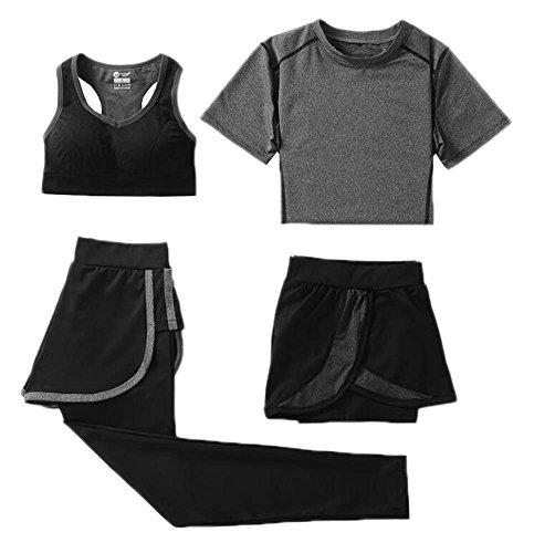 Frauen Yoga Running Workout Bekleidung Set