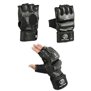 Krav Maga Black Grappling & Striking Freestyle Gloves - Small