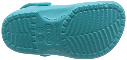 Crocs Classic Kids, Sabots Mixte Enfant Bleu (Pool)