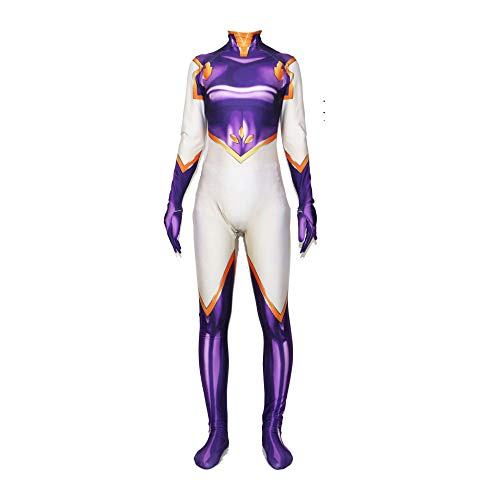 POIUYT Adult Super Fancy Marvel Quantum Warfare Kleidung Adult Rollenspiele Lycra Elastic Halloween-Kostüm PartyTights Film Requisiten Film Requisiten,Purple-XXL
