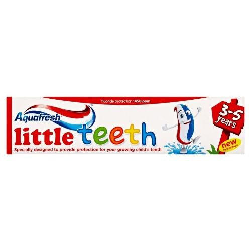aquafresh-toothpaste-little-teeth-3-5-years-50ml-pack-of-6-by-glaxo-smith-kline