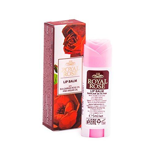 Biofresh 'Balsam Lippen in Öl von Pink und Argan Stick Lip Balm with Rose & Argan Oil Royal Rose 5ml (Royal Roses)