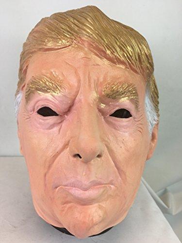 Donald Trump Maske Deluxe Latex Überkopf USA Politiker Kostüm (Kostüme Politiker)