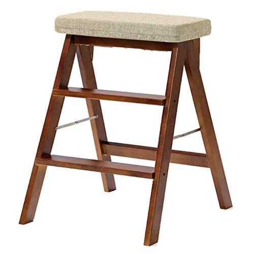 Haushalts Klappstuhl - Tragbare Leiter Erwachsene Einfache Kreative Stuhl Küchenhocker Massivholz Hohe Bank Trittleiter Lange andauernd -