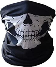 Black Other Accessories For Unisex Men Women Multi use as Neck Scarf Headband Hat Mask