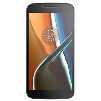 Motorola Moto G4 Smartphone (14 cm (5,5 Zoll) 16GB, Android) schwarz