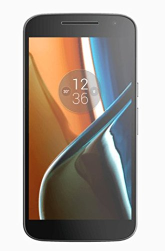 Foto Motorola Moto G4 4G Smartphone Display 5.5'' Full HD, 4G/LTE, Fotocamera 13 MP, 2 GB RAM, 16 GB Memoria interna, Qualcomm Snapdragon 1.5 GHz, Nero [EU]