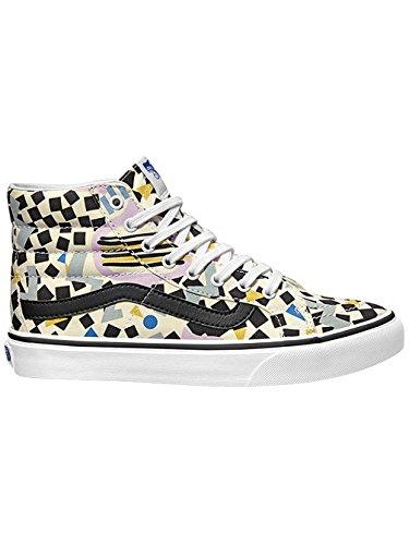 Vans U Sk8-Hi Slim, Stivali donna bianco/nero/lilla/grigio/blu/giallo