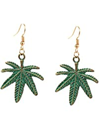 Young & Forever Mothers Day Gifts Christmas Gifts For Women Quirky Green Cannabis Marijuana Lucky Coconut Leaf...
