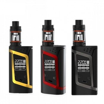 Preisvergleich Produktbild SMOK Alien Kit 220W TC TFV8 Baby Kit Farbe Rot