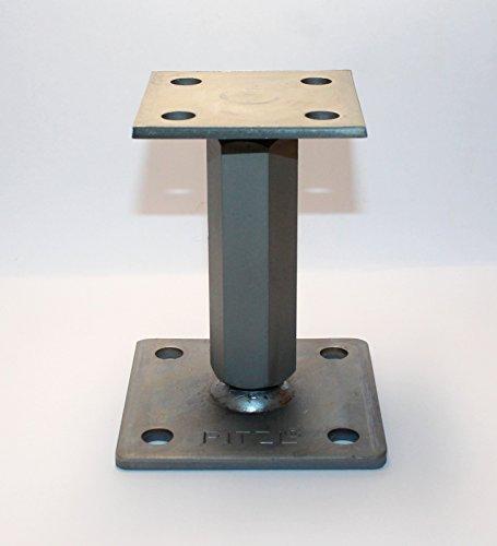 1 Stück Pitzl Pfostenträger Typ - P-Junior -ZiNiP höhenverstellbar, Nutzungsklasse 3