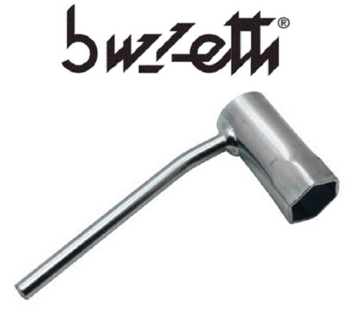 BUZZETTI chiave a candela 21mm scooter PEUGEOT TKR PIAGGIO TYPHOON manico Plie Moto Motorino Auto chiave cyclomoteur 50