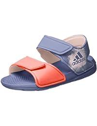 newest a3f1a 62ec4 adidas Altaswim, Sandales Bout Ouvert Mixte Enfant