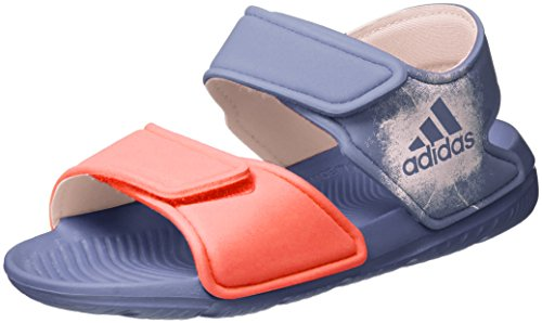 adidas Unisex-Kinder Altaswim Sandalen, Violett (Super Purple/Haze Coral/Easy Coral), 29 EU