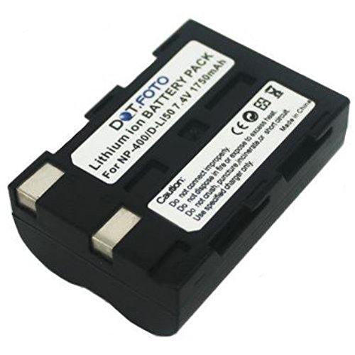 Dot.Foto Qualitätsakku für Minolta NP-400 - 7,4v / 1750mAh - Garantie 2 Jahre - Minolta DiMAGE A1, A2 | Minolta DYNAX 5D, 7D | Minolta MAXXUM 5D, 7D Minolta Maxxum 7d