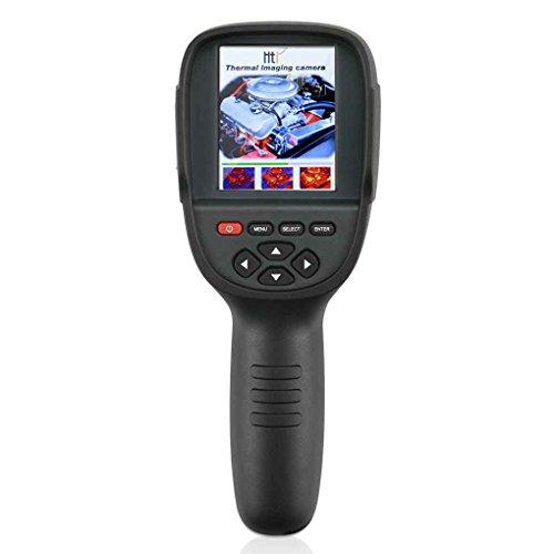 HIT Handheld Wärmebildkamera 3.2 '' Nachtsichtgerät Professionelle Infrarot Temperatur Wärme IR Digitale Wärmebildkamera Kamera mit Speicher -20 ~ 300 ℃ / -4 ~ 572 ÷ 220 × 160 Auflösung und USB HT-18